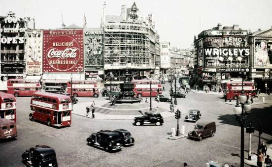Image result for photo of london 1956